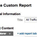 3 Easy Steps – How To Build A Custom Report In Google Analytics