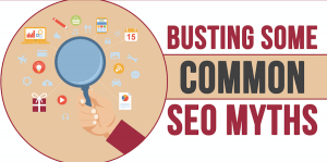 SEO Myths Infographic