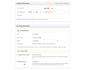 Siteground Hosting Add On Features